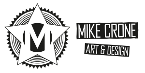 Mike Crone Art and Design - Header logo